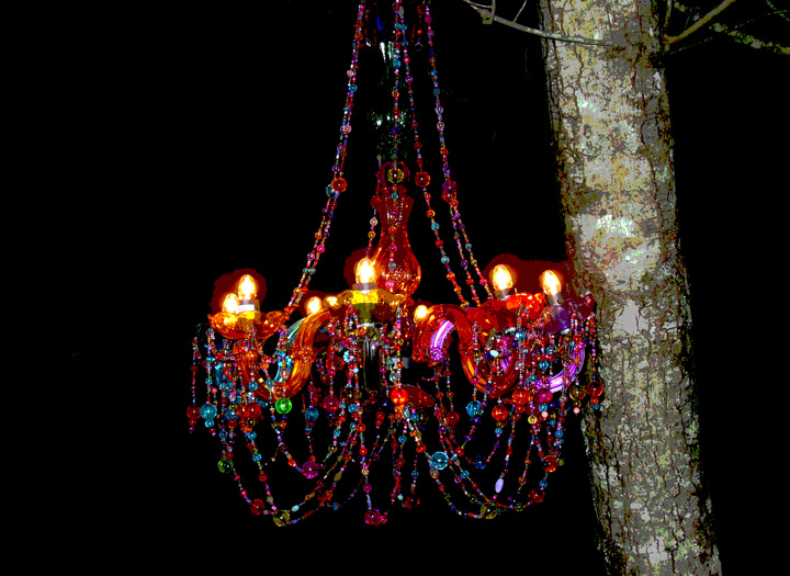 toe river chandelier