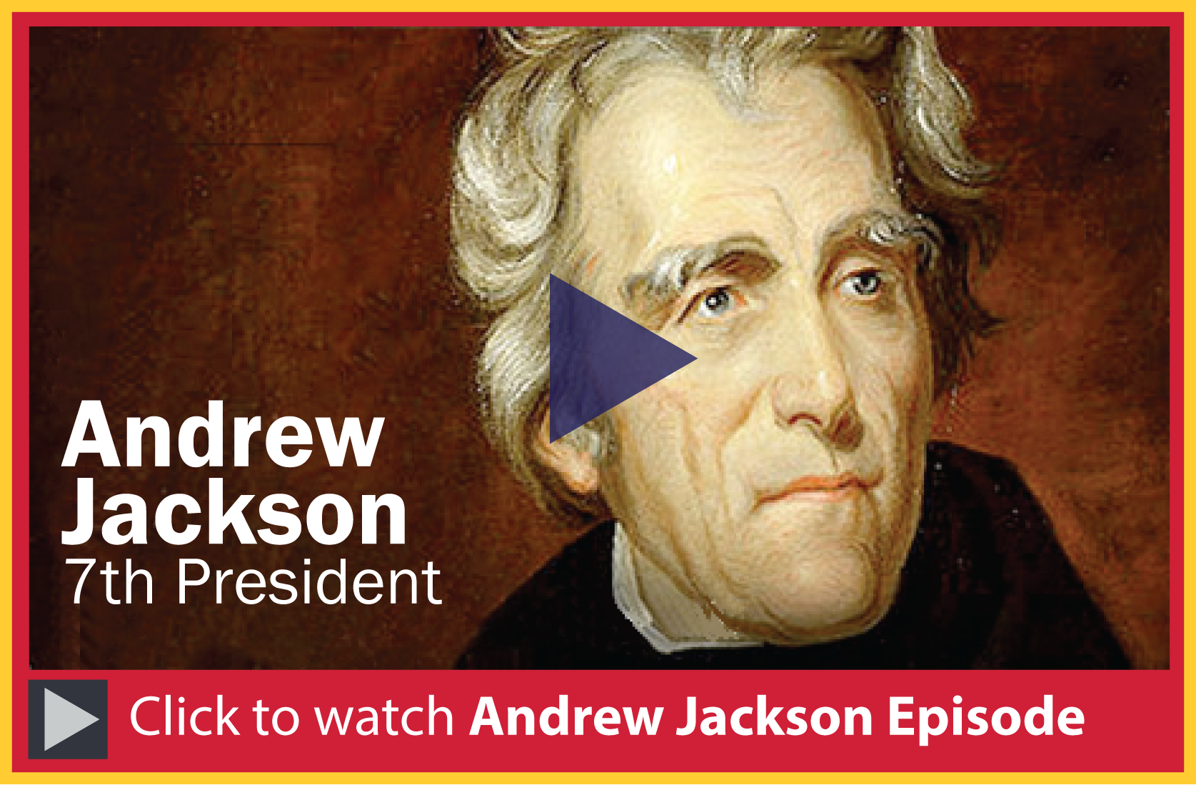 andrew jackson an ideal president for